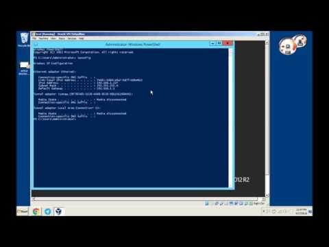 Windows Server 2012 Static Ip and Join Domain
