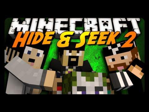 Minecraft Mini-Game: HIDE N' SEEK #2! w/ AntVenom & Friends!