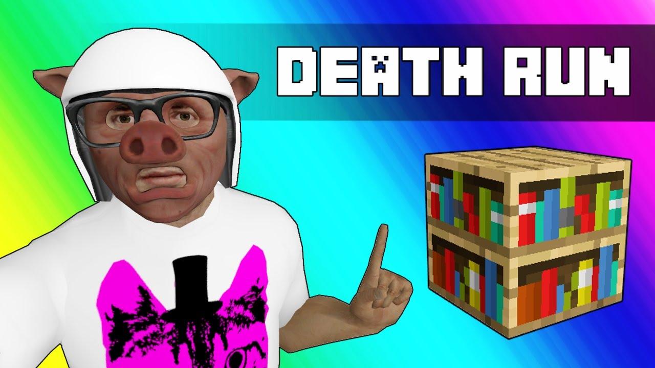 Gmod Deathrun Funny Moments - Minecraft Edition! (Knowledge)