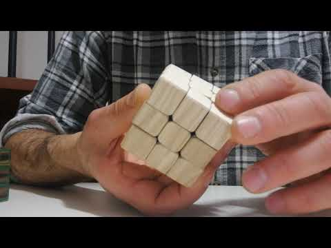 Wooden Rubik's cube, 2018 edition