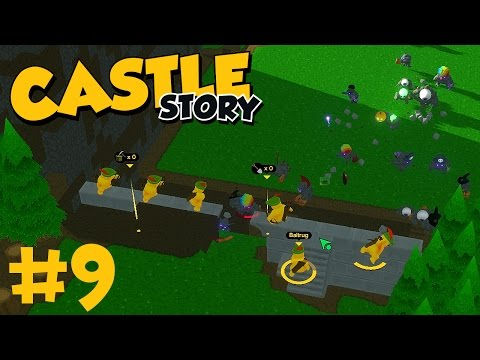 Castle Story - Part 9 - THE BATTLE FOR THE WALL