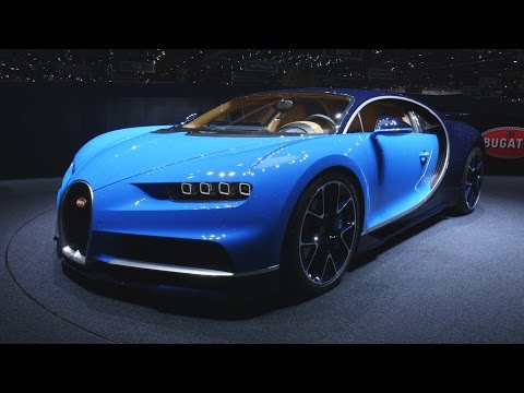 The Bugatti Chiron is the world's fastest road car