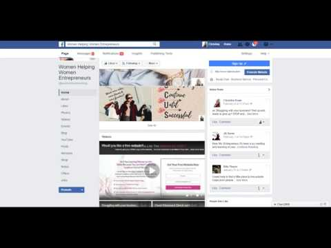 How to edit your business information on a Facebook page