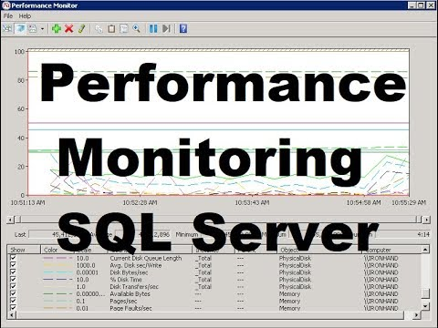 SQL Server Performance - How To Setup and Run Perfmon