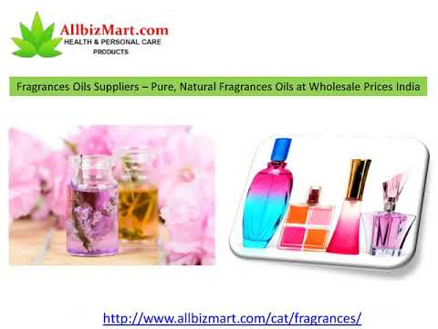 Pure, Organic Essential Oils Suppliers in India