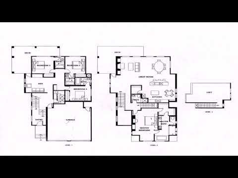 One Story House Plans With 4 Bedrooms
