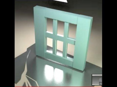 3DS MAX tutorial - WIndows and Doors