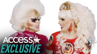 Trixie Mattel And Katya Slay The 'UNHhhhlidays' In This Exclusive Sneak Peek!