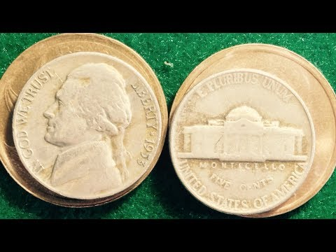 5 Jefferson Nickels From The 1950s To Look For