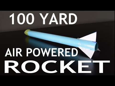 Paper Rockets That Fly 100 Yards