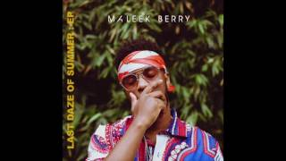 Maleek Berry - Lost In The World (Audio)