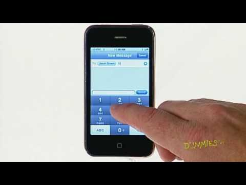 How to Send and Receive Text Messages on Your iPhone For Dummies