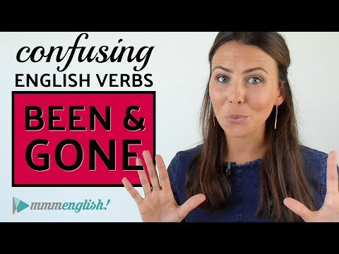 Confusing English Verbs | BEEN & GONE
