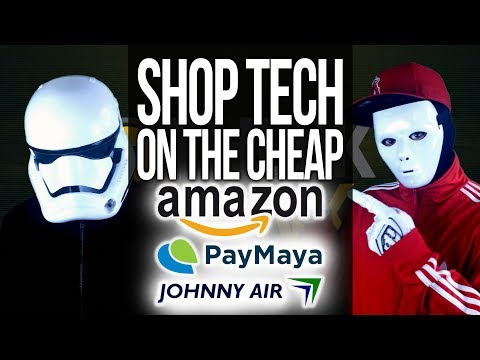 Shop at Amazon & Other US Online Shopping Sites from the Philippines with PayMaya & Johnny Air Cargo