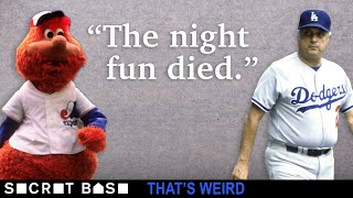 A legendary mascot got ejected because a crotchety Tommy Lasorda hated fun | That's Weird