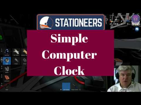 Stationeers - How to build a 1Hz Computer Clock Circuit