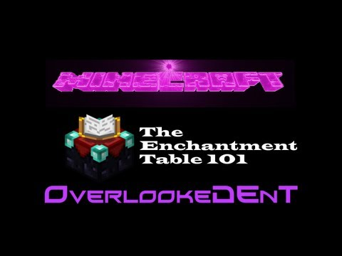The Enchantment Table (Tips)  - Minecraft Xbox 360/PS3 - [Tutorial]
