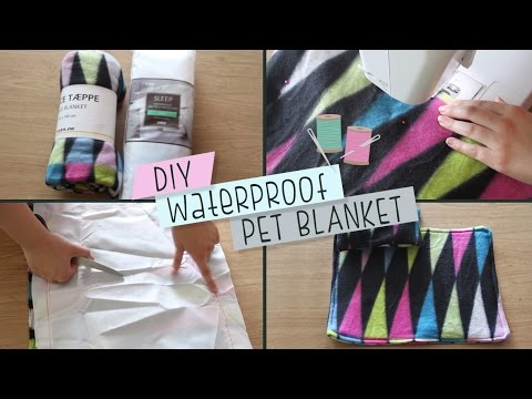 DIY Waterproof Pet Blanket & Cushion