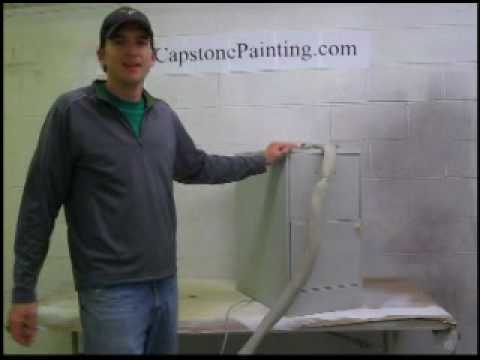 Electrostatic Painting Demonstration