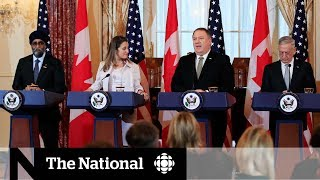 Canada and U.S. meet amid dramatic escalation of tensions with China