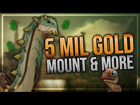 5 million Gold Mount, Warfront Mounts, Hunter Poses, Fun Misc Items & More!