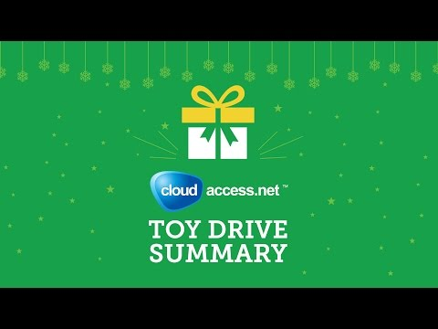 CloudAccess.net Toy Drive Summary
