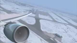 FSX - Airbus A320 Landing Wingview - PakVim net HD Vdieos Portal