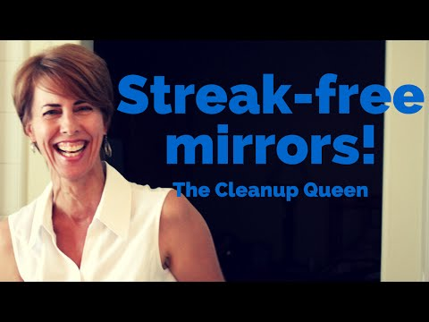 Streak-free mirrors are easy if you know these tricks!