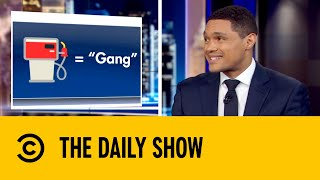 Your Cute Emojis Can Also Mean Sinister Gang Signs | The Daily Show with Trevor Noah