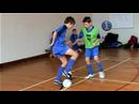 Football Drills - Shielding The Ball