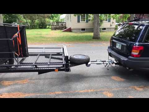 How To Get a Utility Trailer To Stop Bouncing While Being Towed