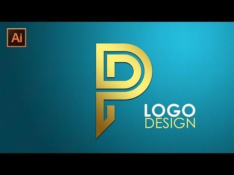 Logo Design   Illustrator CC Tutorial   Letter P