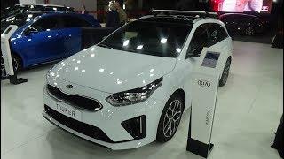 2019 KIA Ceed Tourer GT-Line 1.4 T-GDi 140 - Exterior and Interior - Automobile Barcelona 2019