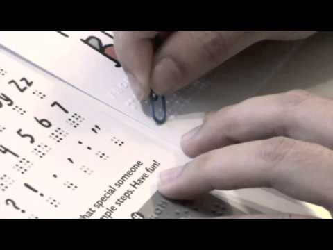 Dot2Dot Braille Greeting Cards Instruction