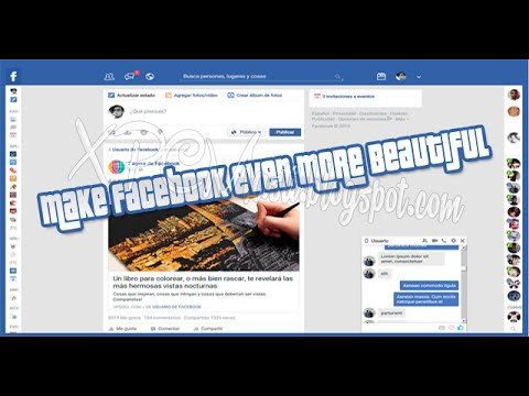 Make facebook even more Beautiful in HD Video Tutorial By XPCMasti