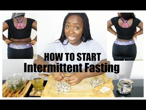 How To Start Intermittent Fasting And Lose Weight Fast Without Exercise
