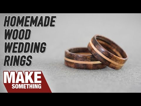 Making Segmented Wood Wedding Rings | Woodworking Project