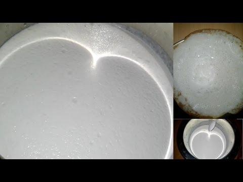 ஆப்பம் மாவு அரைப்பது எப்படி/ How To Make Appam Maavu/ Simple &  Tasty/ South Indian Food