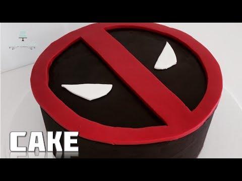 EASY Deadpool CAKE!