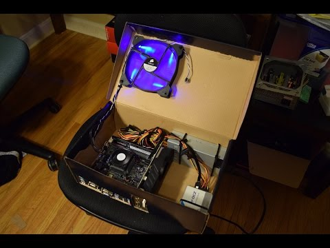Shoe box Gaming Computer - Time Lapse Build
