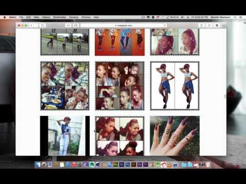 How to download instagram Images using Safari