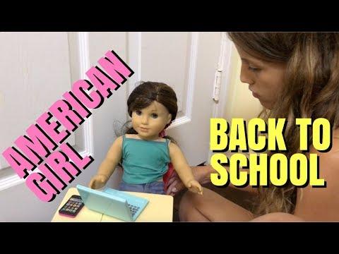 American Girl Back To School