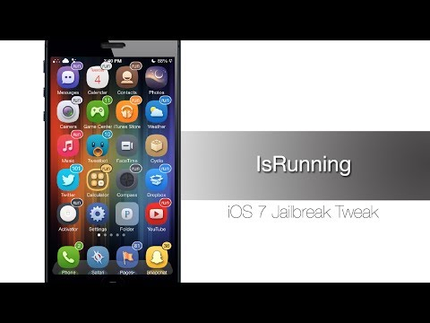 IsRunning: Cydia Tweak that displays badges for background running apps - iPhone Hacks