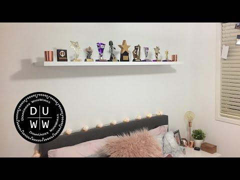 How to - Easy DIY floating shelf