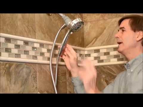 Installing Handheld Showerhead