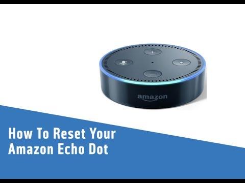 How To Reset Your Amazon Echo Dot