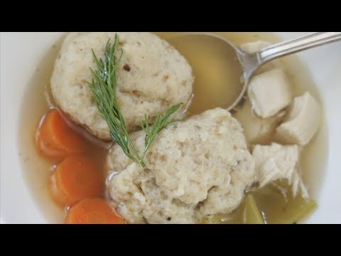 How to Make Chicken Soup with Matzah Balls