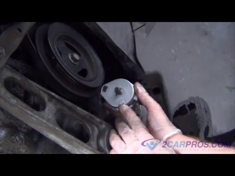 Serpentine Belt Tensioner Replacement Chrysler PT Cruiser