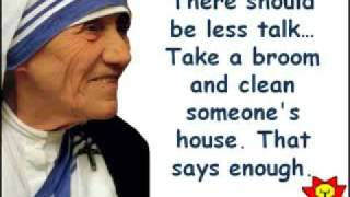 Quotes from Mother Therasa