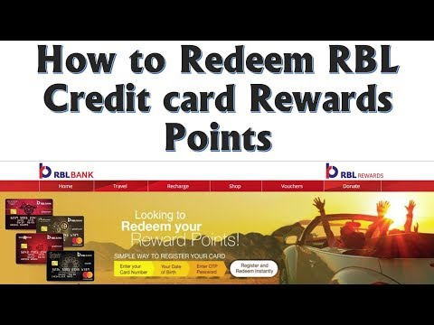 How to Redeem RBL Bank Credit card Rewards Points | Get Exciting Gifts